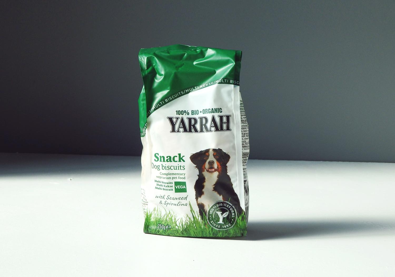 100%オーガニック犬用おやつ「Yarrah(ヤラー)」