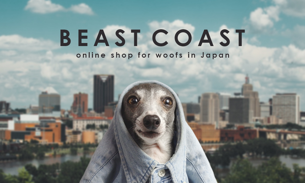 BEAST COAST online shop for woofs in Japan/ 2017