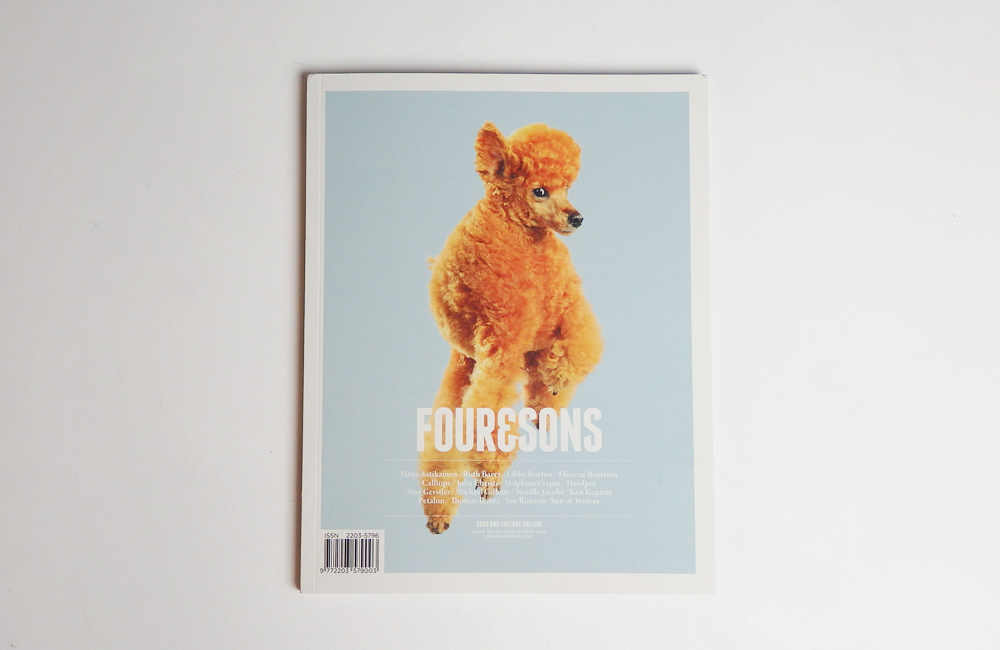 「FOUR&SONS」の新刊。