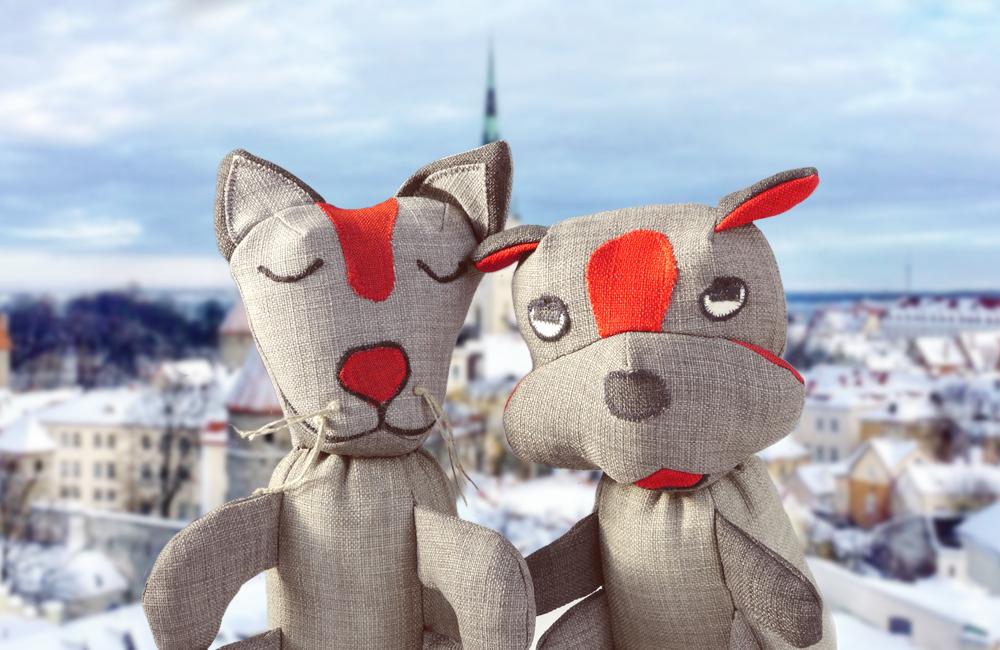 ヨーロッパ/エストニアからやって来た、エコで丈夫な犬用おもちゃ「BIFF」と「MORRIS」。遂に日本初上陸です。