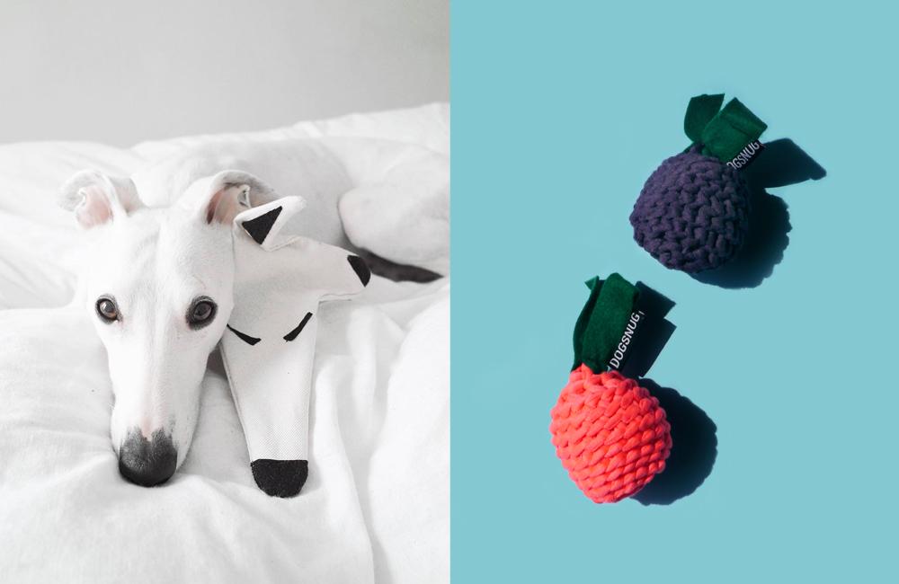 〈 新商品 〉イギリス発のドッグブランド「DOGSNUG」のサイトハウンドがモデルのパズルおもちゃ、登場!