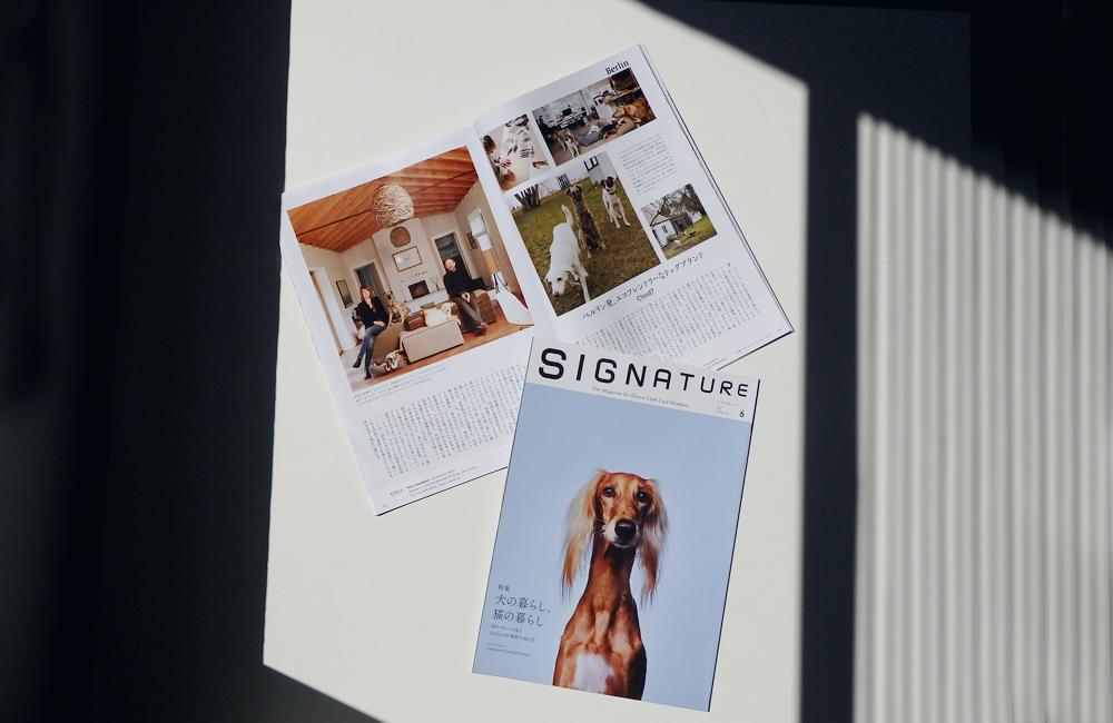 特集「犬の暮らし、猫の暮らし」by Signature with Cloud7