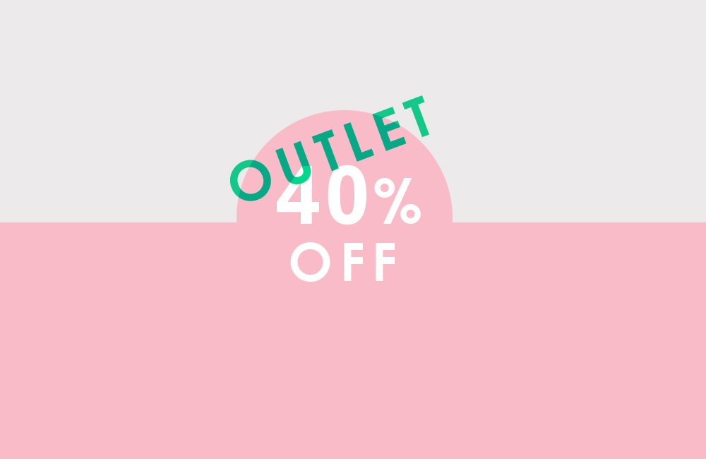 outlet sale - 40%OFF