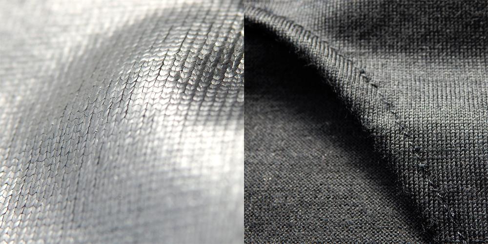 繊維のズーム