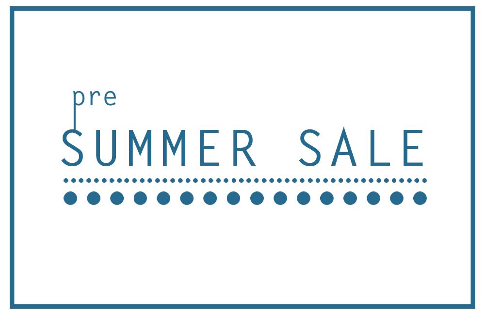 夏はもうすぐ「Pre Summer Sale」セール開催中!