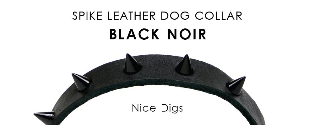 メルボルン生まれのドッグブランド「Nice Digs」から、ブラックレザーライン登場
