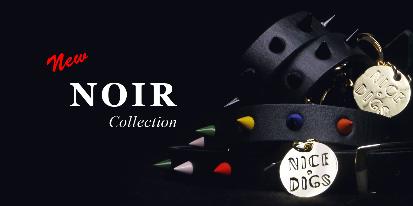 Noir line for your woofs by Beast Coast / ブラック用品特集 for ドッグ