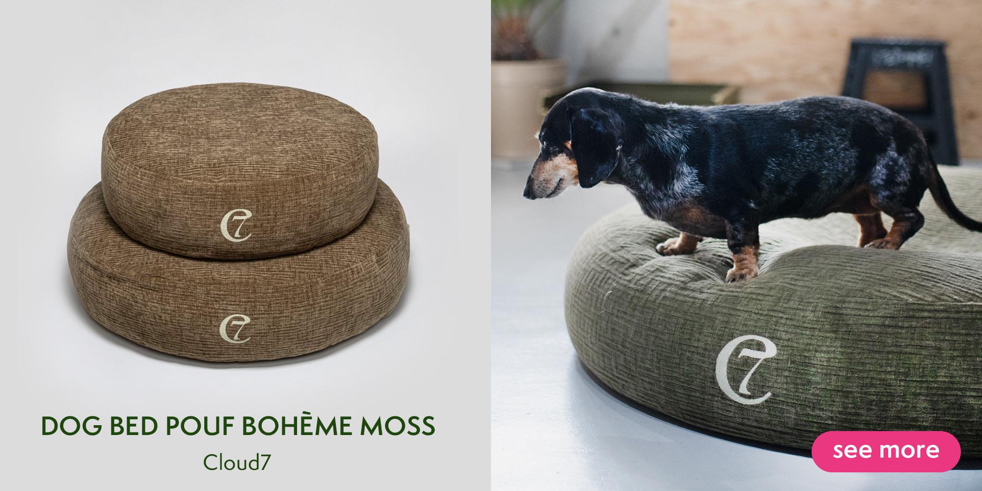 犬用ベッド/Dog pouf