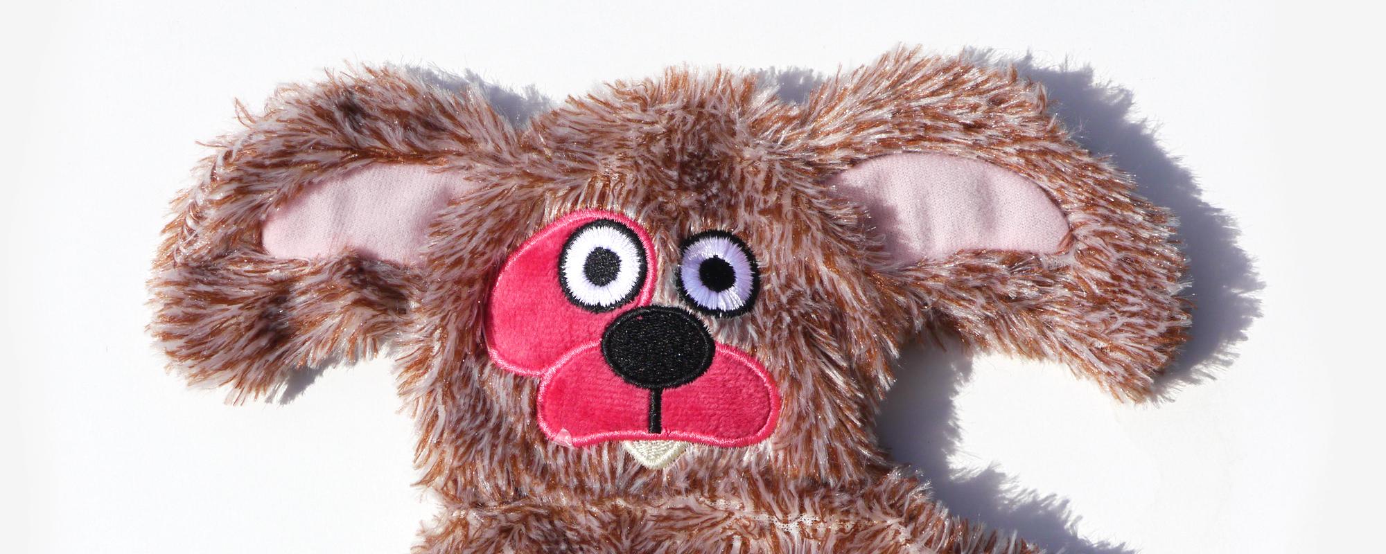 ダルダル犬用うさぎ風おもちゃ