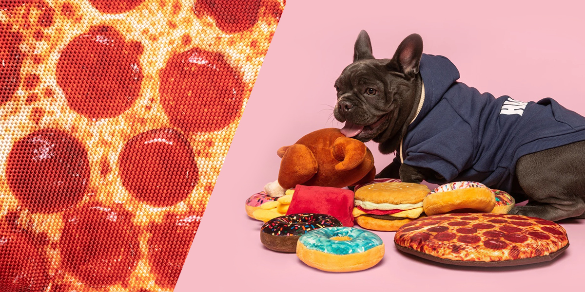 fabdog 10inch pizza | ファブドッグの愛犬用ピザおもちゃ