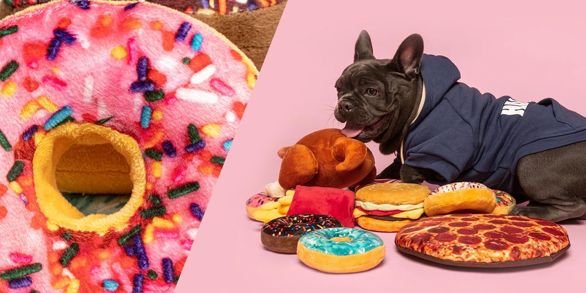 fabdog 10inch pizza | ファブドッグの愛犬用ドーナツ風おもちゃ