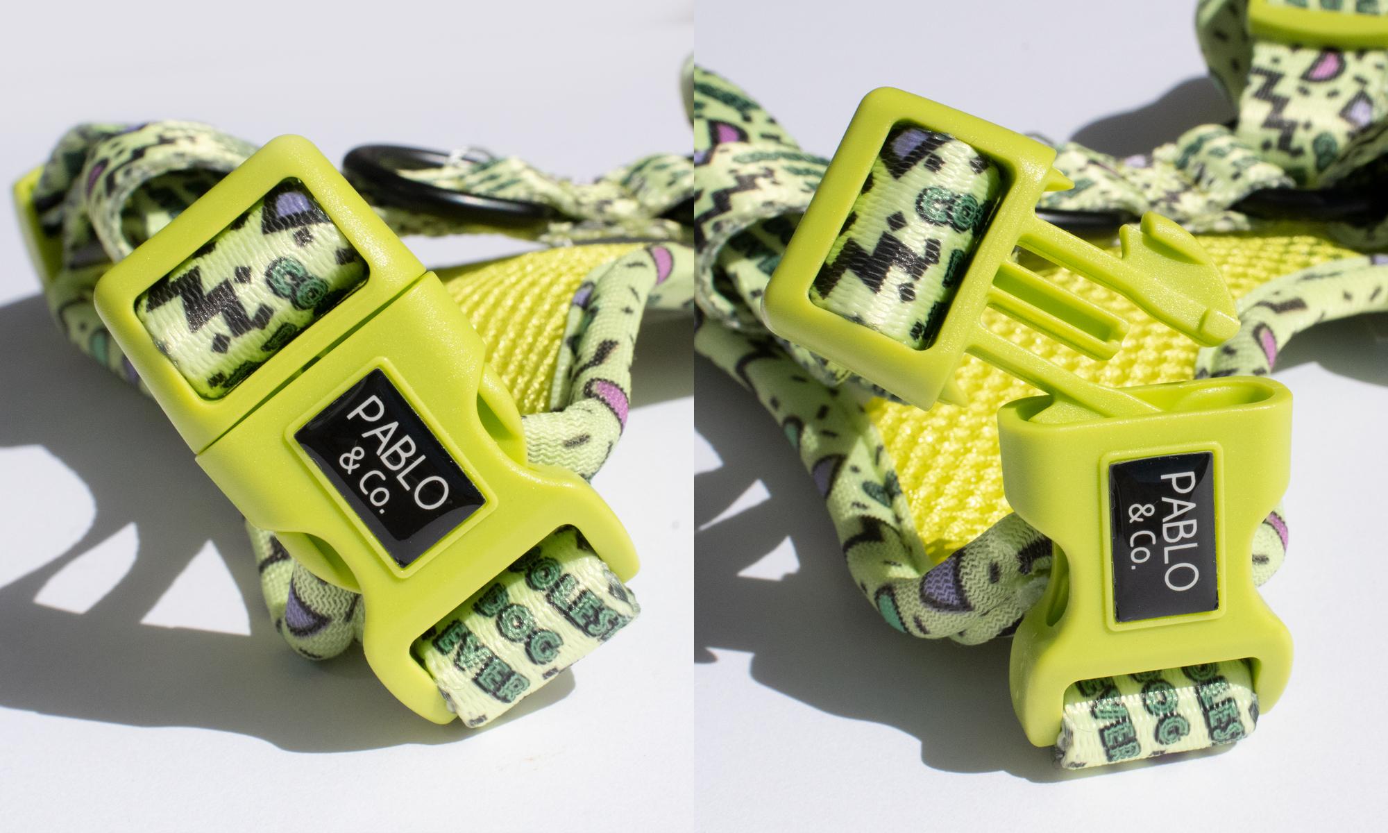 Pablo&Co   Harness   Coolest Dog Ever 強力フックでしっかり留めてくれます