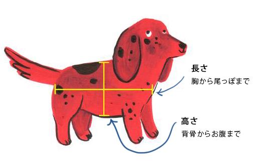 愛犬用キャリーサイズについて