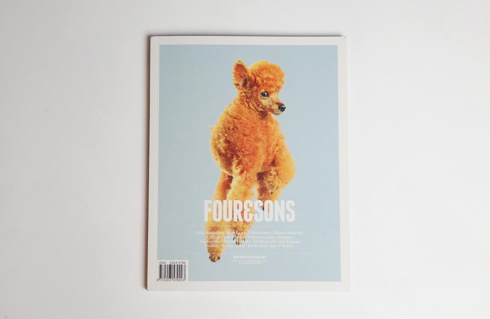 「FOUR&SONS」の新刊。
