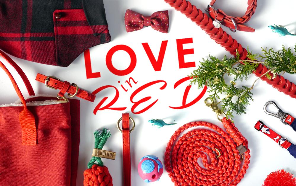 ビーストコーストのクリスマス。LOVE in RED!