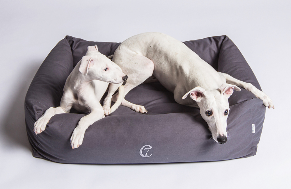 Cloud7 - Dog Bed Sleepy Organic Stone Grey
