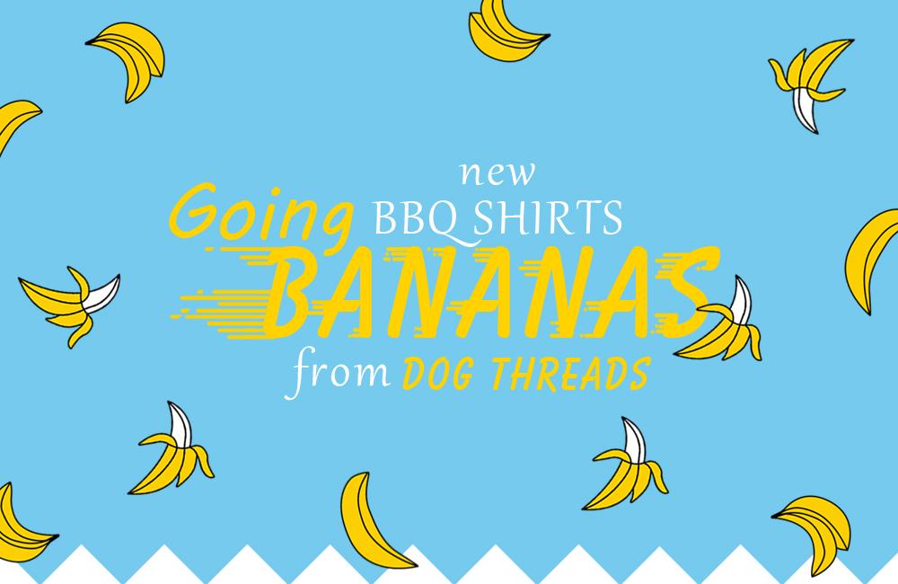 <新商品> バナナのアロハシャツ入荷しました by Dog threads / BEAST COAST
