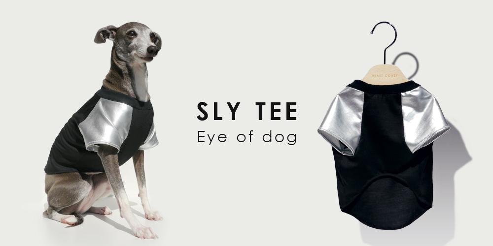 オーストラリア(メルボルン)生まれのドッグブランド「Eye of dog(アイ・オブ・ドッグ)」のシルバーTシャツ