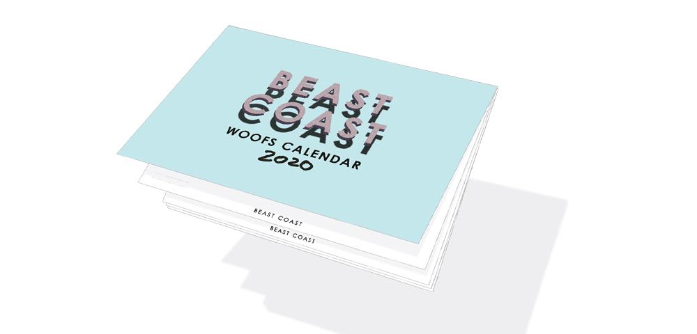 A4冊子タイプのカレンダー